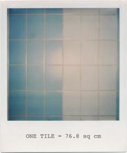 baby blue and white tiles (Barnett Newman)